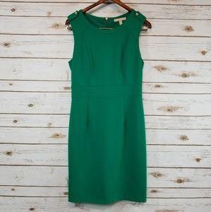 Banana Republic | Emerald Green Sleeveless Dress